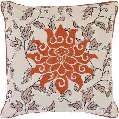 Ayres 100% Cotton Throw Pillow Cover