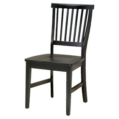 Ferryhill Solid Wood Dining Chair Finish: Ebony