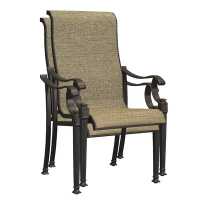 Orrville Stacking Dining Arm Chair (Set of 2)