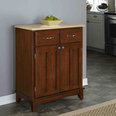 Ferris 2 Drawer Server Color: Cherry