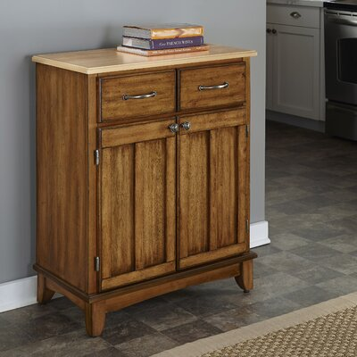 Ferris 2 Drawer Server Color: Cottage Oak