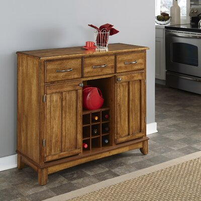 Ferris Traditional Wood Server Color: Cottage Oak