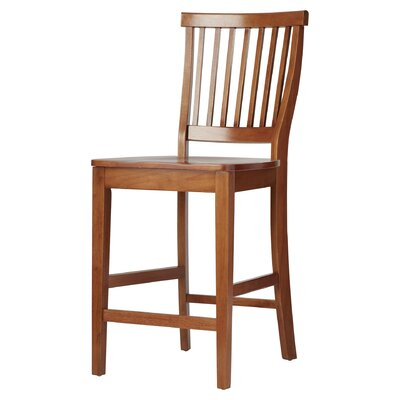 Lakeview 24 Bar Stool Finish: Cottage Oak