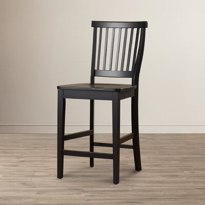 Lakeview 24 Bar Stool Finish: Ebony