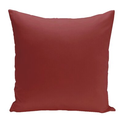 Eastvale Solid Decorative Outdoor Pillow Color: Buddha, Size: 20 H x 20 W x 1 D