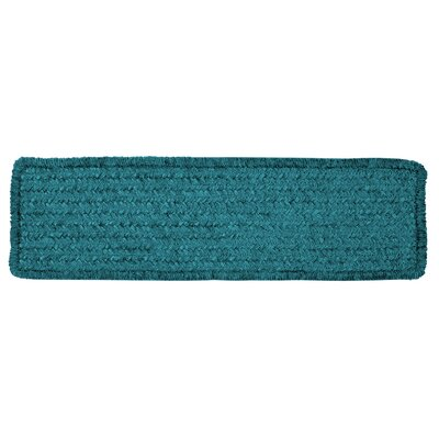 Redfield Teal Chenille Stair Tread Quantity: 1
