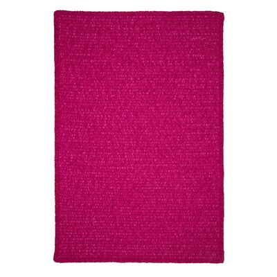 Redfield Hand-Woven Pink Area Rug Rug Size: Square 10