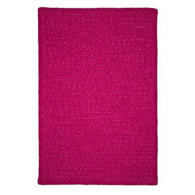 Redfield Hand-Woven Pink Indoor/Outdoor Area Rug Rug Size: 10 x 13