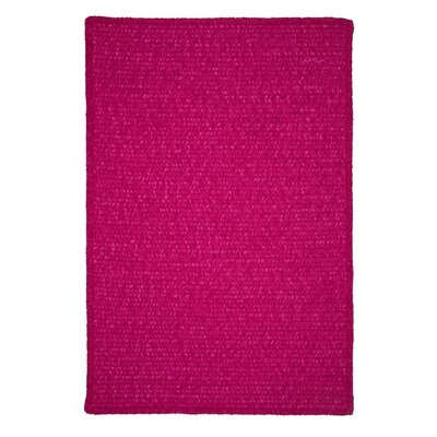 Redfield Hand-Woven Pink Area Rug Rug Size: Runner 2 x 10