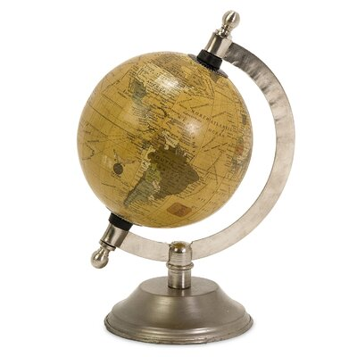 Celestial Designed Globe with Base
