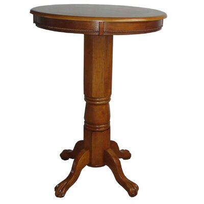 Florence Pub Table Finish: Brush Oak