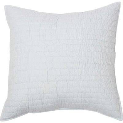 Hessville Cotton Throw Pillow Color: Blue