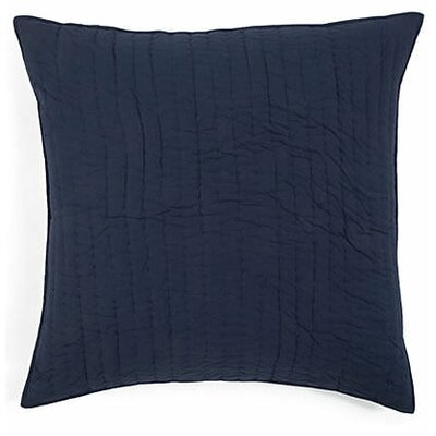 Freeport Cotton Throw Pillow Color: Navy