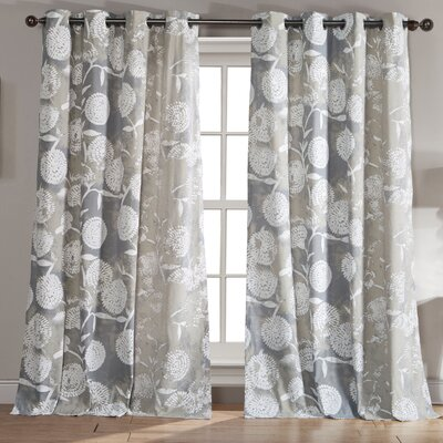 Pompey Single Curtain Panel
