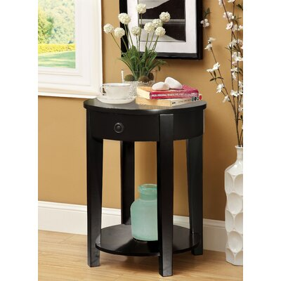 Sands Point End Table Color: Black