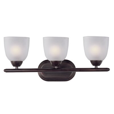 Malden 3-Light Vanity Light Finish: Oil Rubbed Bronze
