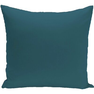 Georgia Outdoor Throw Pillow Color: Deep Sea, Size: 18 H x 18 W x 1 D