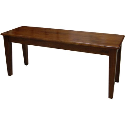 Alcott Hill Windham Wood Kitchen Bench