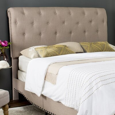 Hathaway Upholstered Platform Bed Size: Full, Upholstery: Taupe