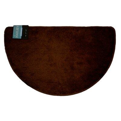 Arata Slice Rug Color: Chocolate
