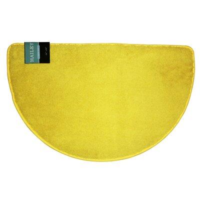 Arata Slice Bath Rug Color: Yellow