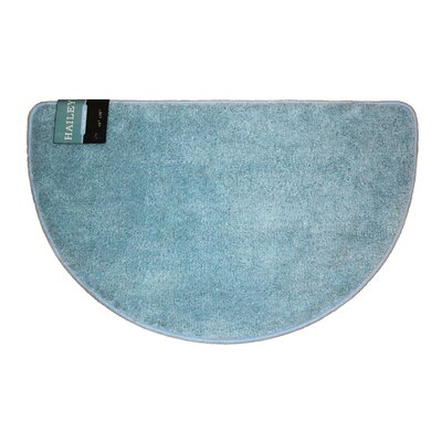 Arata Slice Bath Rug Color: Light Blue