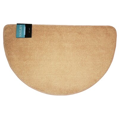 Arata Slice Bath Rug Color: Beige