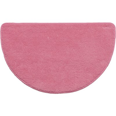 Arata Slice Bath Rug Color: Rose