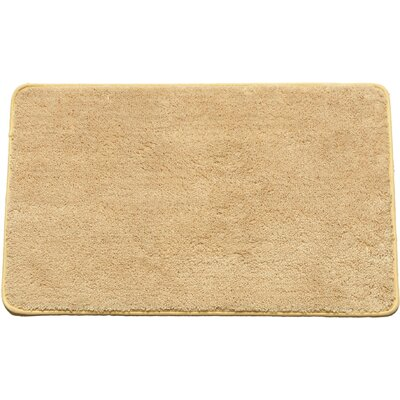 Arata Rectangle Bath Rug Color: Beige