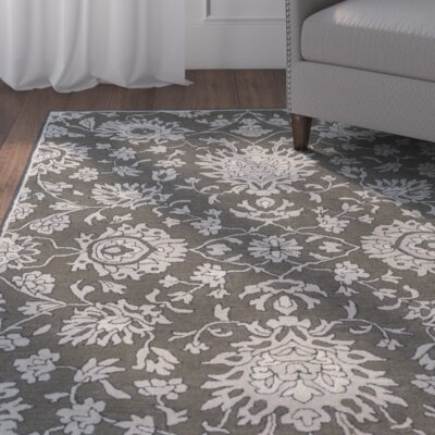 Langport Forest & Light Gray Area Rug Rug Size: Rectangle 8 x 10