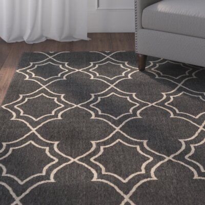 Amato Taupe Indoor/Outdoor Area Rug Rug Size: 23 x 46