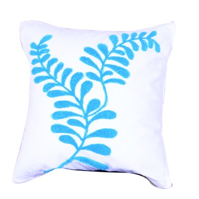 Countryman Embroidered Throw Pillow