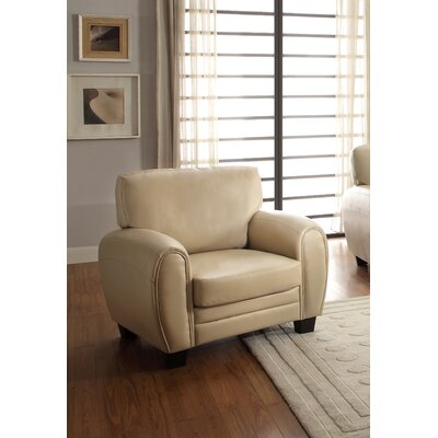Leith Arm Chair Color: Taupe