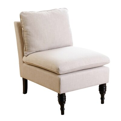 Bridge Slipper Chair Color: Cream