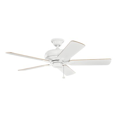 Bonnie 52 5-Blade Ceiling Fan Finish: Matte White