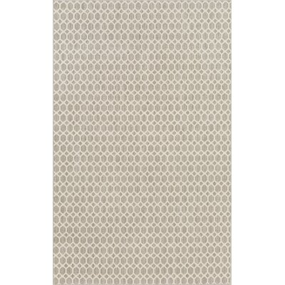 Casper Gray Indoor/Outdoor Area Rug Rug Size: Round 4