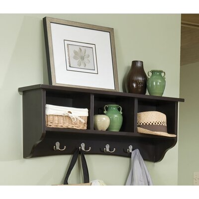 Bel Air 8 Hook Storage Shelf
