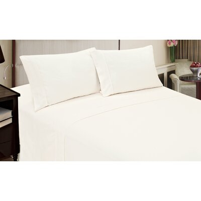 Blackmon Cotton 4 Piece Sheet Set Size: King, Color: White
