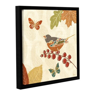 Autumn Song IX Framed Painting Print on Wrapped Canvas