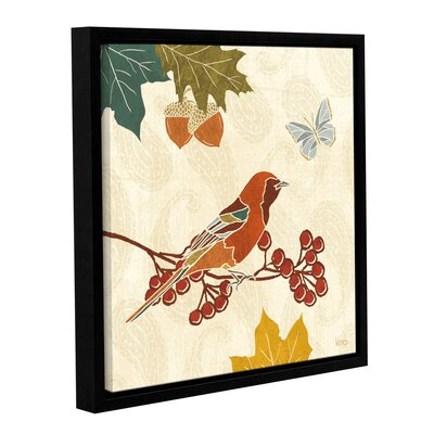 Autumn Song VIII Framed Painting Print on Wrapped Canvas