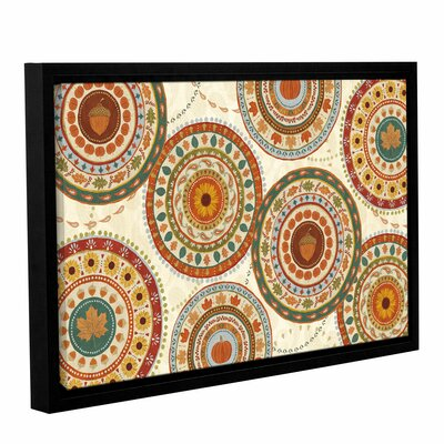 Autumn Song X Light Framed Painting Print on Wrapped Canvas