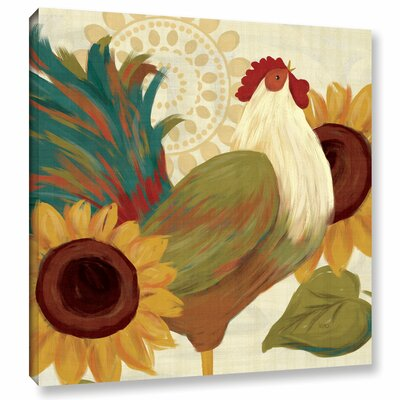 Spice Roosters I Painting Print on Wrapped Canvas