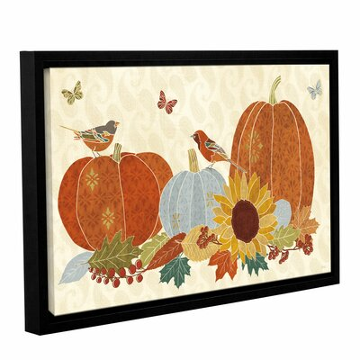 Autumn Song I Framed Painting Print on Wrapped Canvas