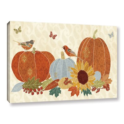 Autumn Song I Painting Print on Wrapped Canvas