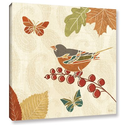 Autumn Song IX Painting Print on Wrapped Canvas