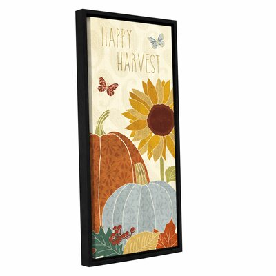Autumn Song V Framed Painting Print on Wrapped Canvas
