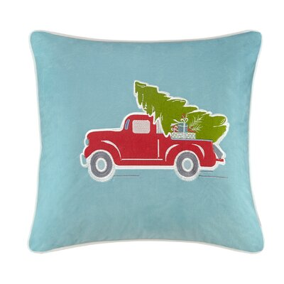 Holiday Delivery Throw Pillow