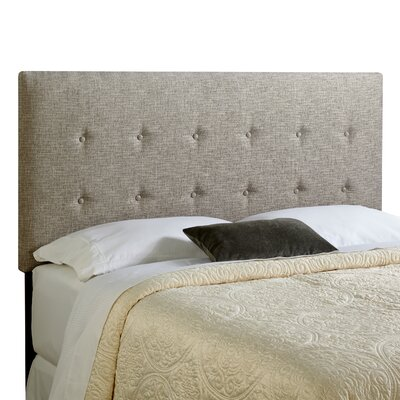 Dublin Upholstered Panel Headboard Size: Queen, Upholstery: Ash Grey
