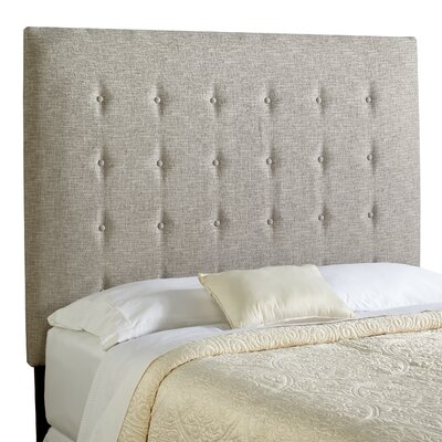 Dublin Upholstered Panel Headboard Size: Tall Queen, Upholstery: Ash Grey