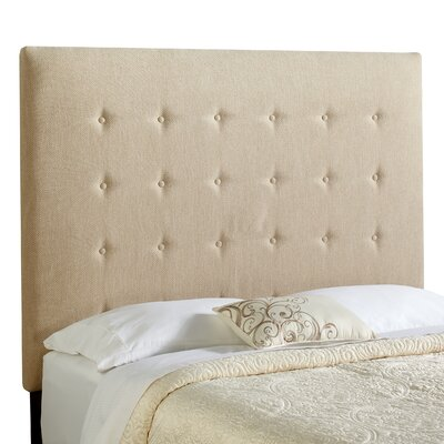 Dublin Upholstered Panel Headboard Size: Tall Full, Upholstery: Light Sage